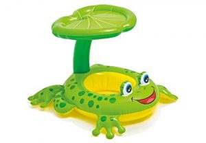 Froggy baby floating device
